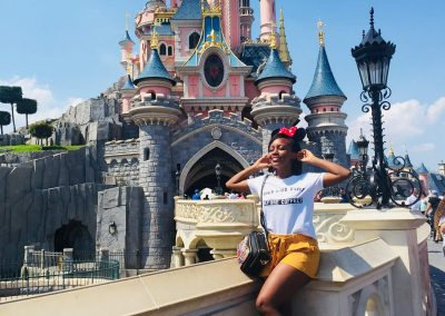 Camerodene Buys in Disney World, Paris, France